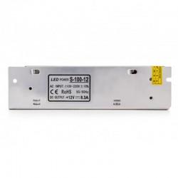 Oferta Transformador metálico 12v 100W 8,5A IP25