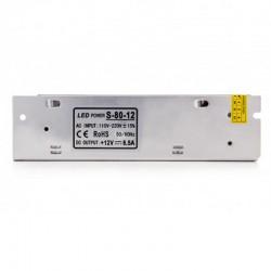 Oferta Transformador metálico 12v 80W 6,5A IP25