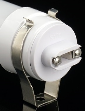 Clips metalicos para sujetar fluorescentes