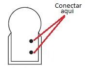 Conectar el flex neon