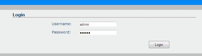 user y pasword controlador LED wifi